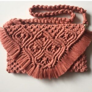 Women's Macrame Handbag Model Gandom