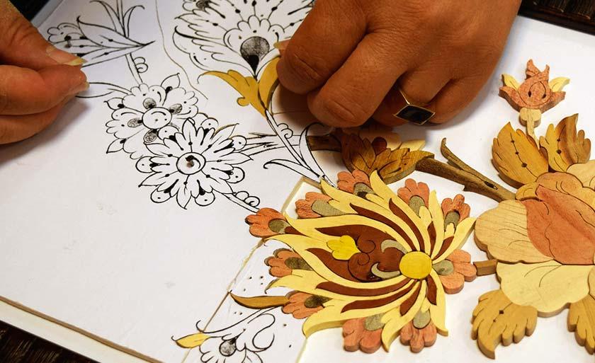 Moaragh Kari Persian Art | ShopiPersia