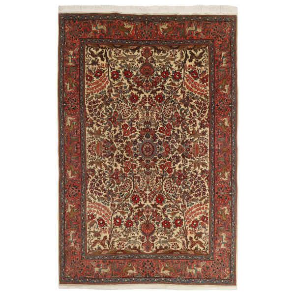 Persian Handmade Carpet Afshan Model Saruq