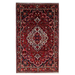 Hand Knotted Persian Rug Model Baghegol