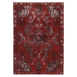Hand Knotted Persian Carpet Model Vintage