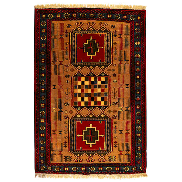 Persian Handwoven Carpet Model Ashayer