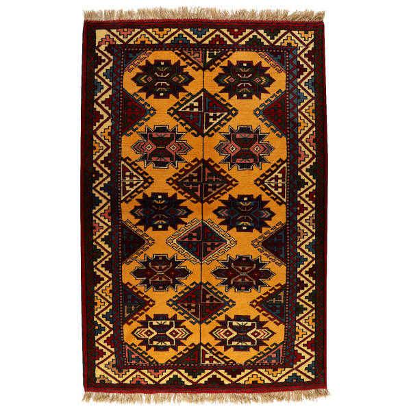 Persian Handwoven Kheshti Carpet Model Ashayer