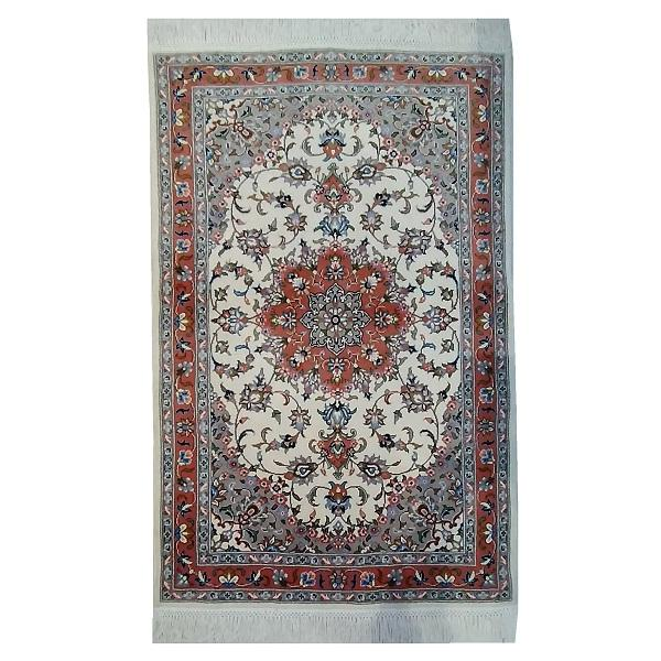 Hand Knotted Iranian Toranj Lachak Carpet