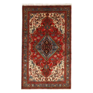 Iranian Handwoven Carpet Toranj Model Nahavand