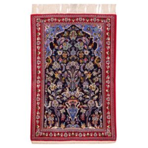 Qom Handwoven Carpet Afshan Model Baghegol