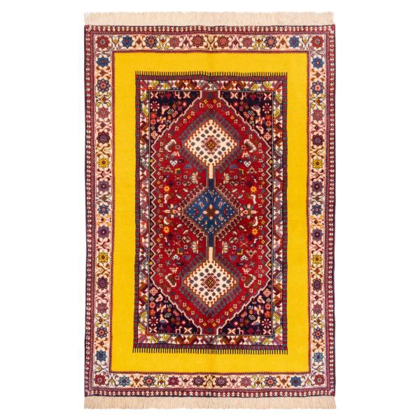 Iranian Handwoven Afshan Rug Model Cpersia
