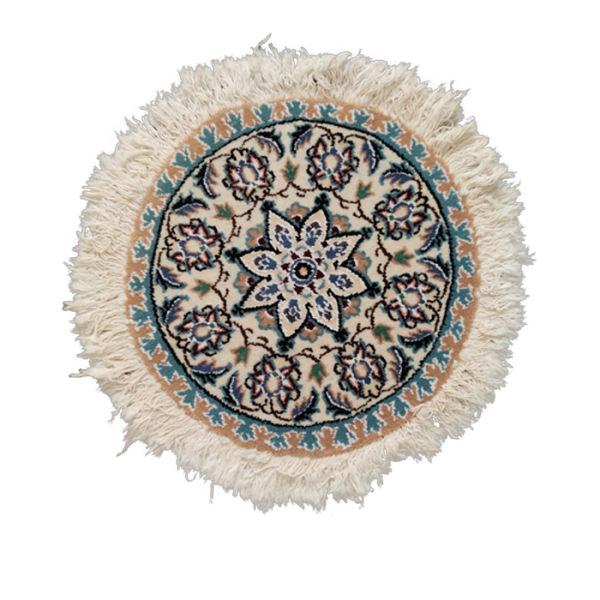 Persian Handwoven Rug Toranj Model Round