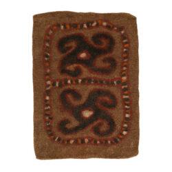 Iranian Felt Carpet Model Gol