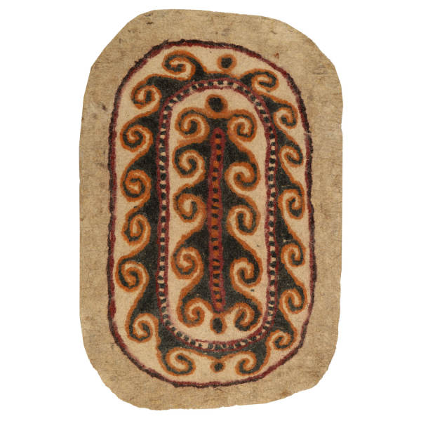 Persian Handmade Felt Carpet Model Eslimi