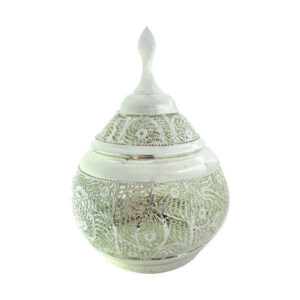 Iranian Filigree Silver Candy Bowl Dish