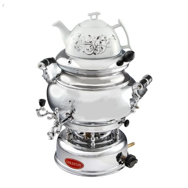 7 Liter Iranian Gas Samovar Model Golestan