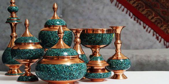 Turquoise Inlaid | ShopiPersia