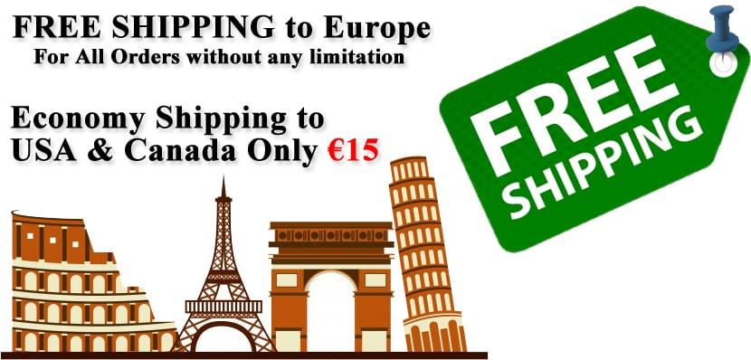 FREE Shipping to Europe & USA | ShopiPersia