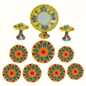 Enameling Haft Seen Collection Bowls Dishes