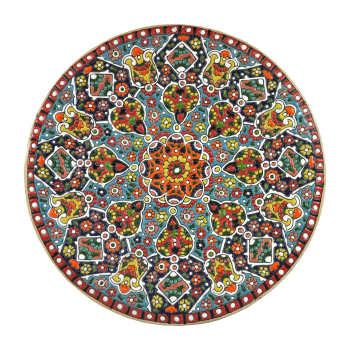 Lalejin Enameling Plate Model Faraz