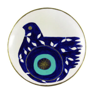 Pottery Wall Hanging Plate Model Cheshm Nazar
