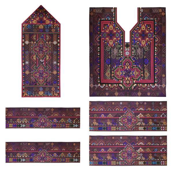 Balochi Handmade Embroidered Dress Panel