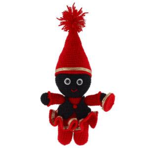 Hajji Firuz Knitted Doll