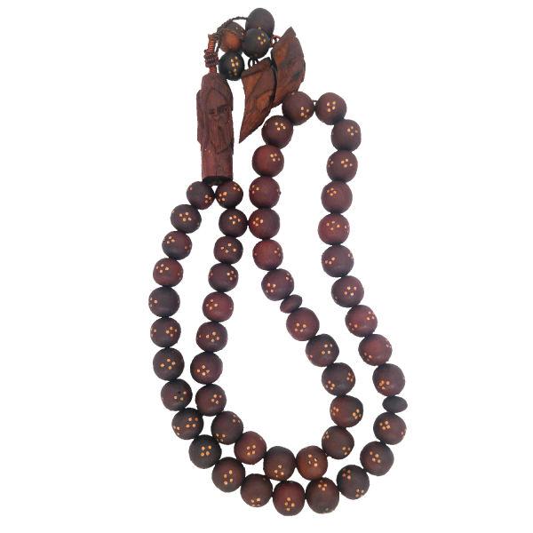 Muslim Islamic Rosary Model Jujube Wood