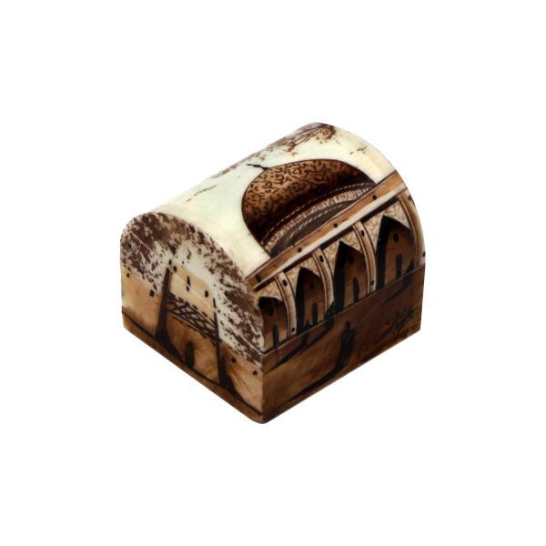 Iranian Bone Jewelry Box Model Dome
