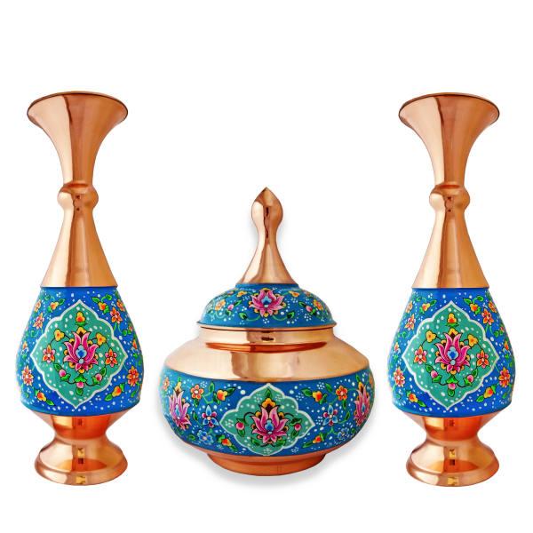 Set of Minakari Pots & Candy Bowl Dish