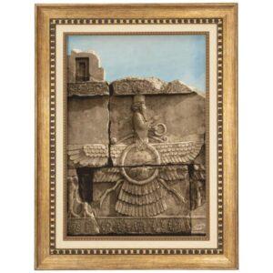 Handmade Persian Tableau Rug - Persepolis