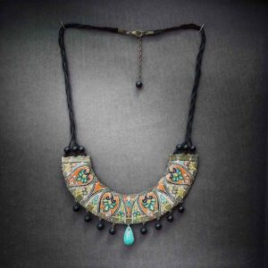 Persian Women's Necklace Model Termeh