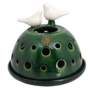 Pottery Bird Candlestick Model Dast Negar