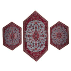 Set of 3 Termeh Tablecloth Model Abbasi