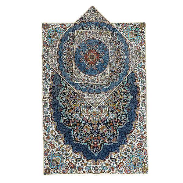 Sajadeh: Islamic Muslim Prayer Mat Termeh - Ordibehesht