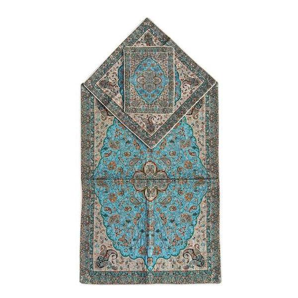 Janamaz Sajadeh Muslim Prayer Mat Model Khatam