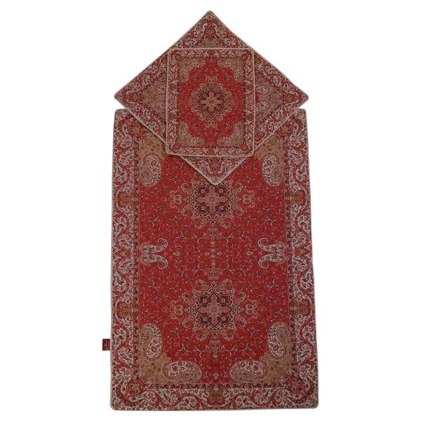 Sajadeh: Janamaz Muslim Prayer Mat Salari Model Pardis 3