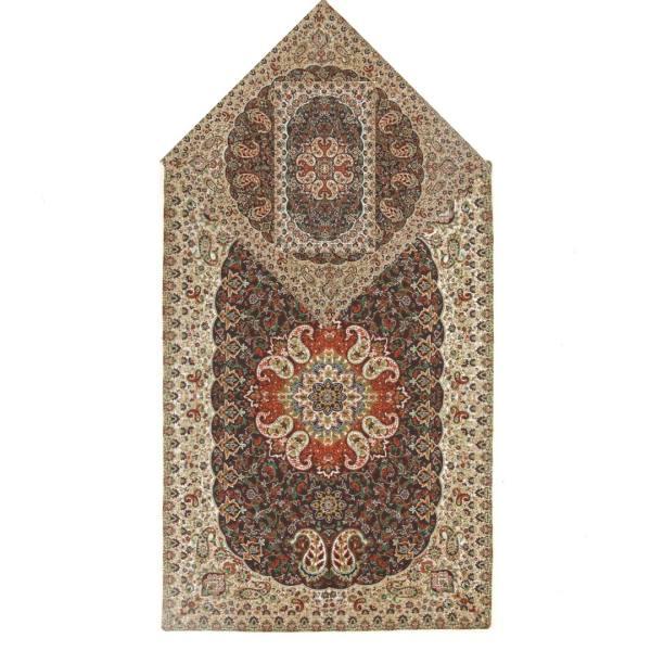 Sajadeh: Islamic Muslim Prayer Mat Termeh Traditional