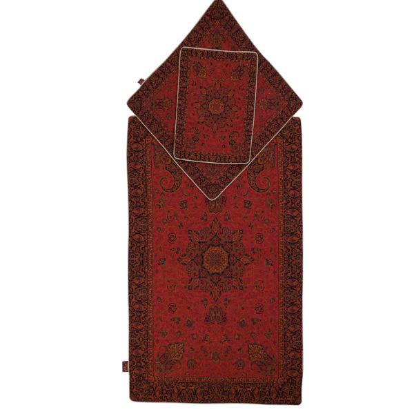 Janamaz Muslim Prayer Mat Salari Model Bahar 8