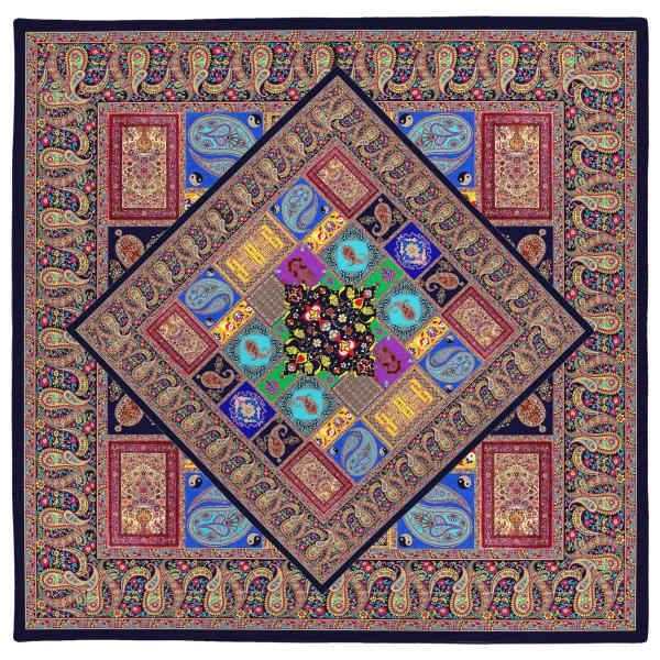 Janamaz Muslim Prayer Mat Model Traditional two face