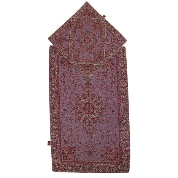 Sajadeh: Janamaz Muslim Prayer Mat Salari Model Bahar