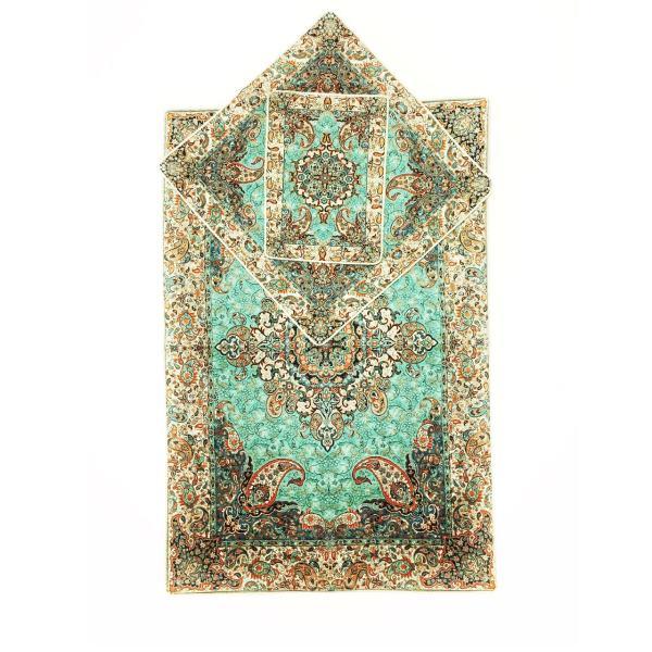 Sajadeh: Muslim Prayer Mat Termeh - Chehel Sotoon