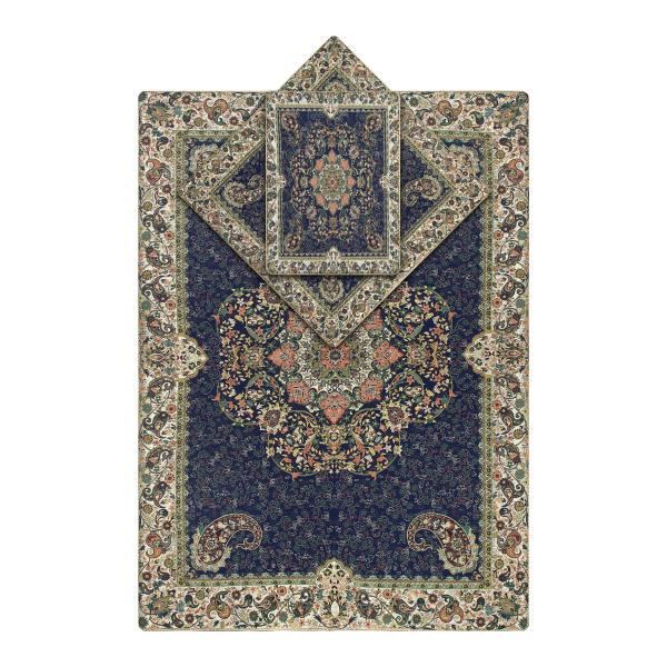 Sajadeh: Islamic Muslim Prayer Mat Termeh - Nova