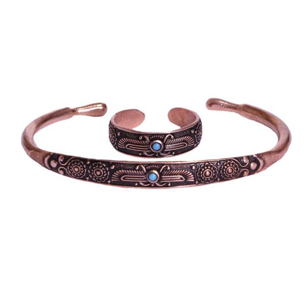 Set of Persian Ring & Bracelet Model Fravashi