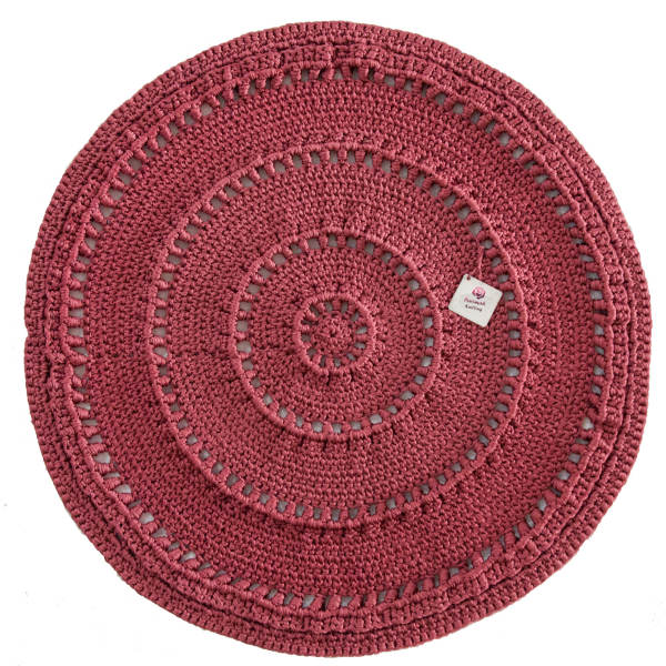 Persian Hand Knitted Rug - Round