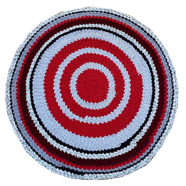 Round Hand Knitted Rug Model Teriko