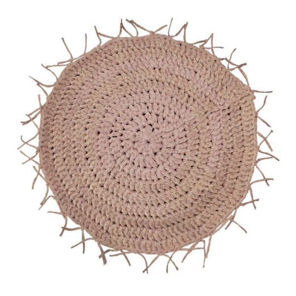 Persian Hand Knitting Rug - Round