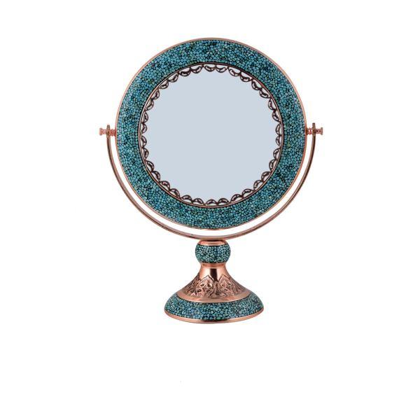 Iranian Firuzehkubi Cooper Mirror - Aghajani