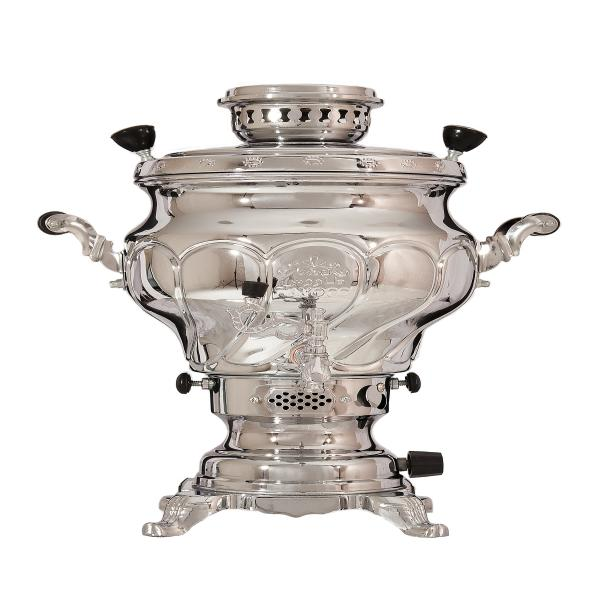 6 Liter Iranian Gas samovar Model Peacock