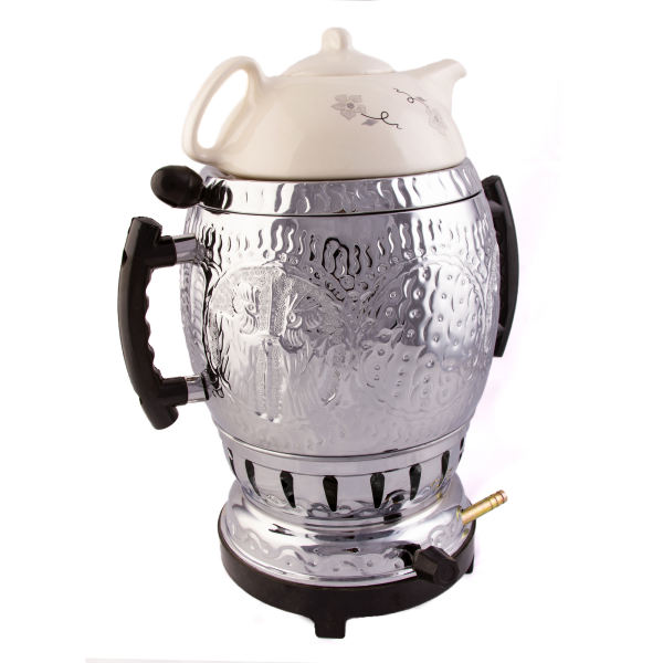 6 Liter Persian Gas Samovar Model Jabbari