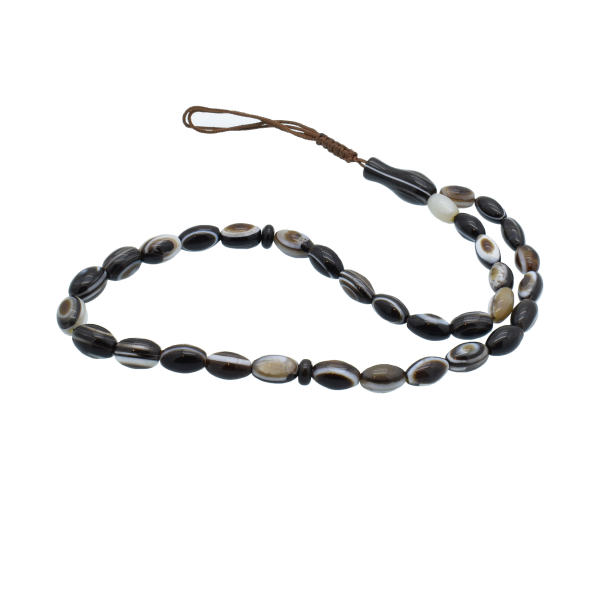 Sulemani Aqeeq Rosary Muslim Prayer Beads Tespih