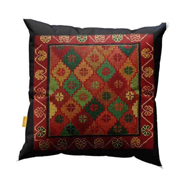 Iranian Handmade Jajim Kilim Cushion Cover
