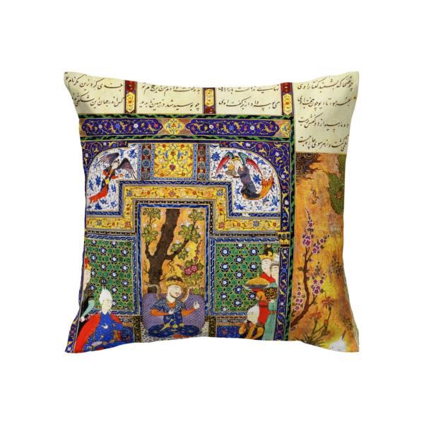 Shahnameh Iranian Throw Pillow Case Cushion Cover