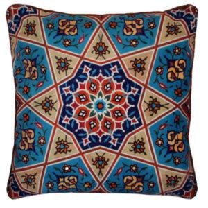 Iranian miniature illustration Cushion Cover